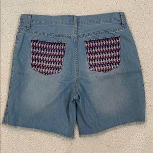 The Children's Place Midi Kenzie Wash Jean Shorts